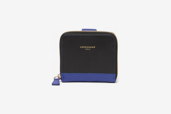 Longchamp 2.0 Small Compact Leather Wallet