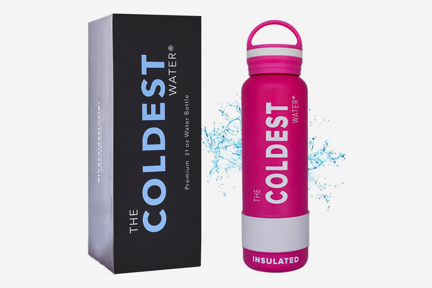 The Coldest Water Bottle Vacuum Insulated Stainless Steel Hydro Travel Mug