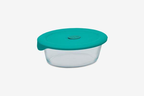 Pyrex 3-Qt. Oval Dish & Lid
