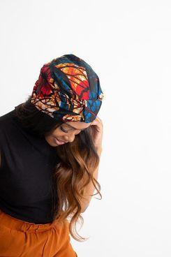 Grace Eleyae Ayana Print Turban