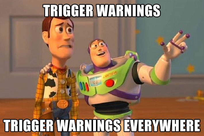 Is There Any Evidence Trigger Warnings Are Actually A Big Deal