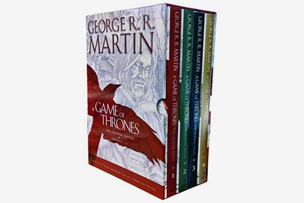 A Game of Thrones Graphic Novel 4 Books Collection Box Set (Hardcover)
