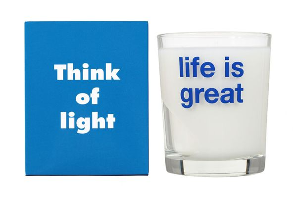 Life Is Great Candle