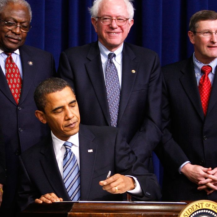 President Obama Makes Recovery Act Announcement On Community Health Centers