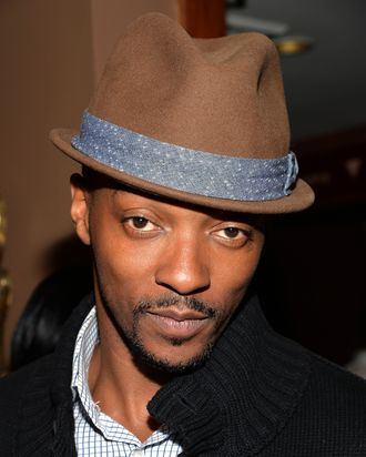 NEW YORK, NY - APRIL 16: Actor Anthony Mackie attends the 2014 Tribeca Film Festival After-Party For