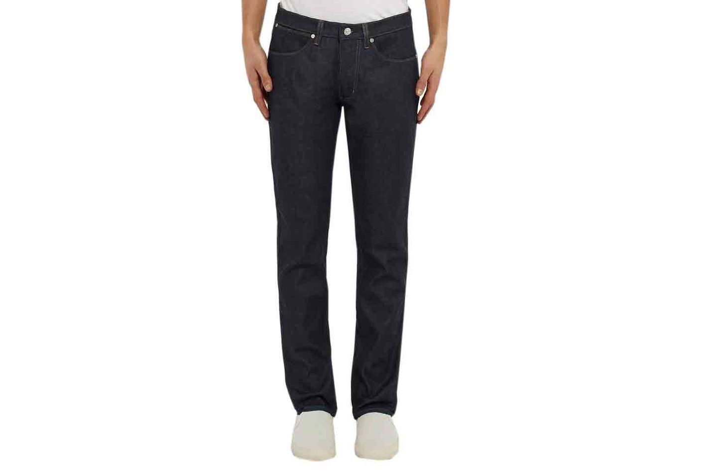 Acne Studios Max Raw Slim-Fit Stretch-Denim Jeans