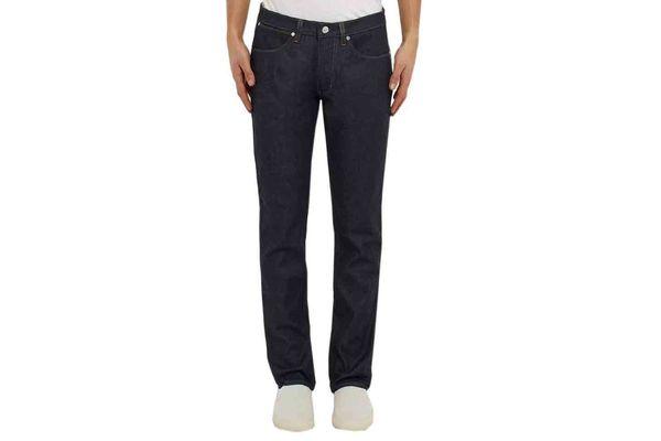 Acne Studios Max Raw Slim-Fit Stretch-Denim Jeans