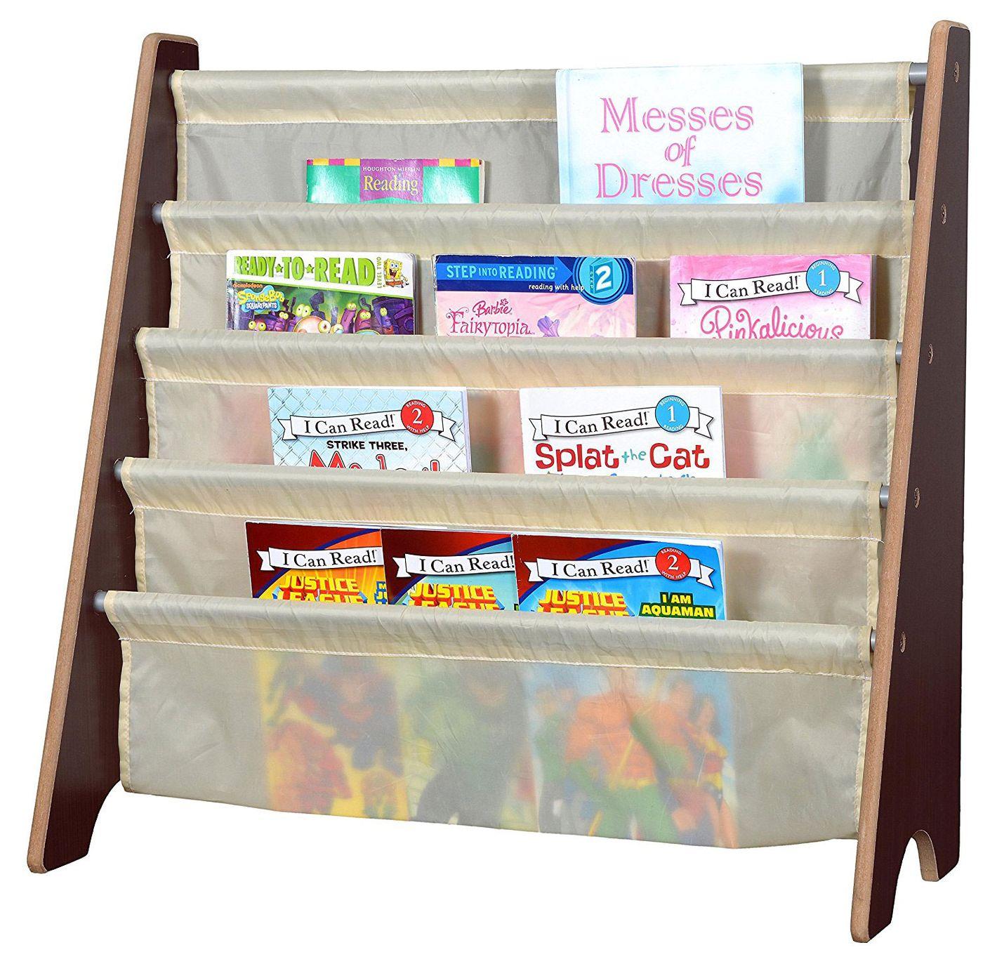Naomi Home Kids Toy Sling Book Rack