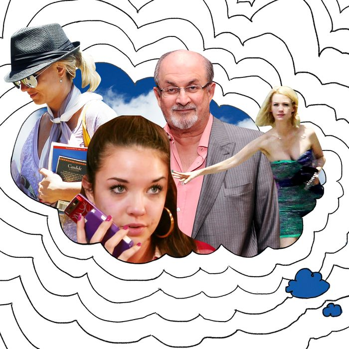 Britney Spears, Alexis Neiers, Salman Rushdie, January Jones.