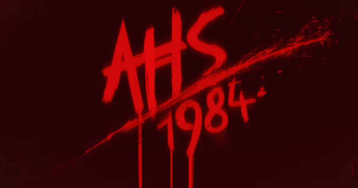 The AHS: 1984 Credits Are a Spandex Slasher Nightmare