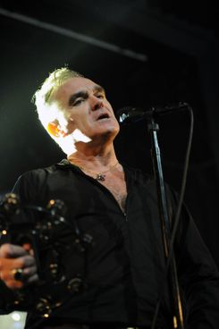 Morrissey in concert at the Enmore Theatre in Sydney
