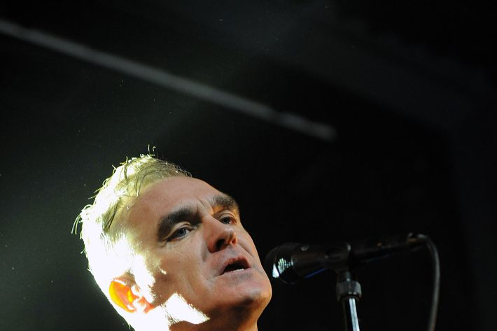 Morrissey's going to be around for a while.