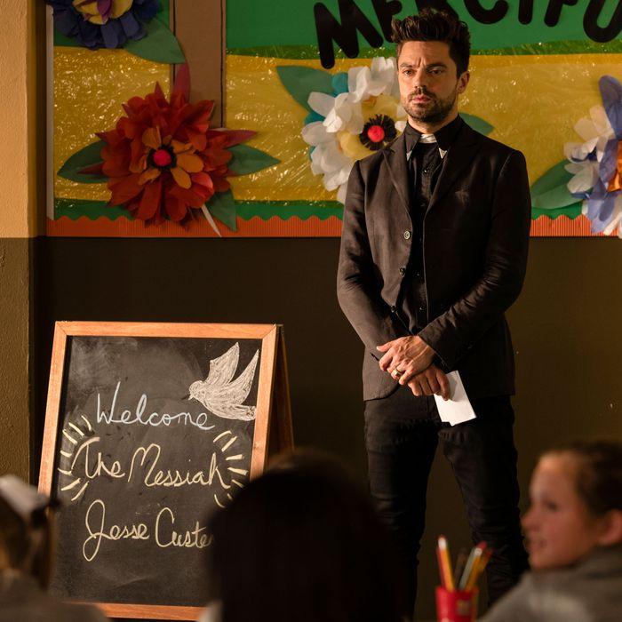 Tv love exclusive preachers la season finale