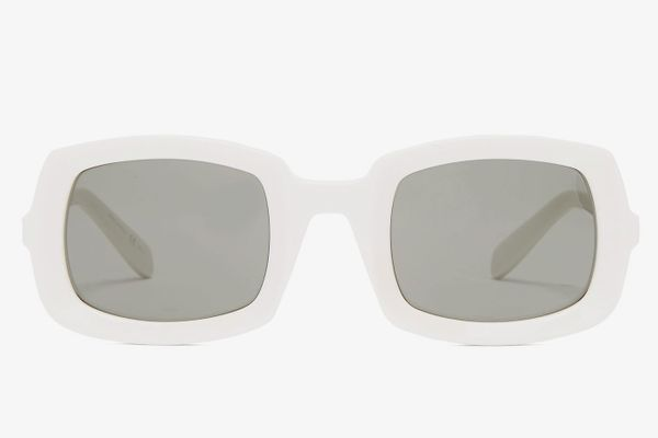Saint Laurent Thick Frame Acetate Sunglasses