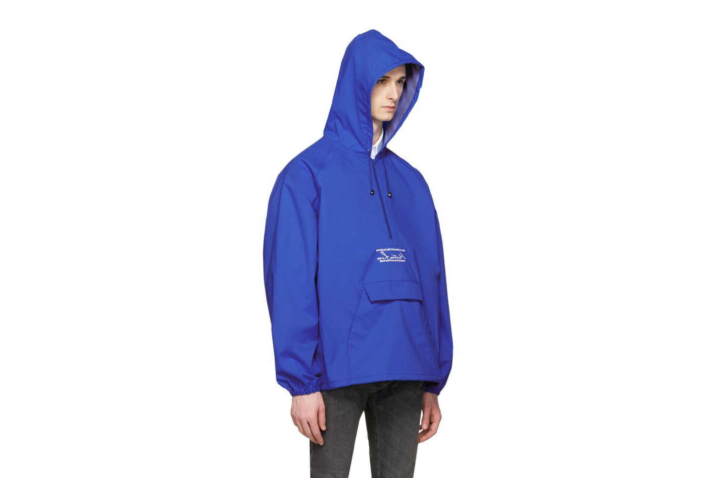 Martine Rose Blue Windcheater Jacket