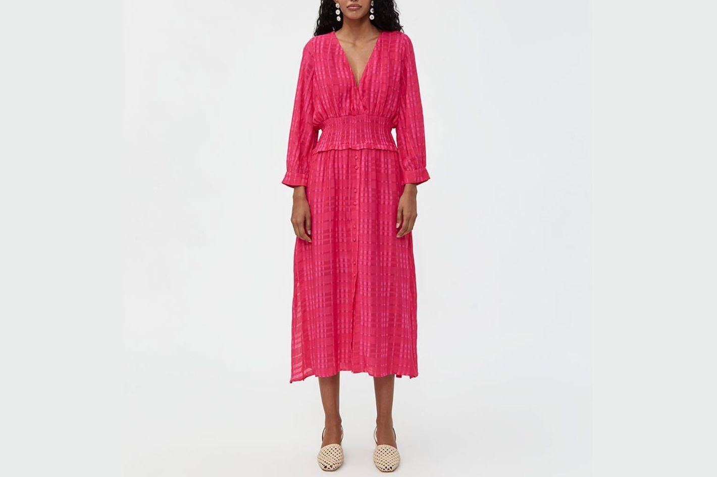 Farrow Cybele Smocked Waist Dress