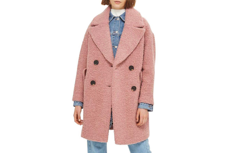 Topshop Alicia Bouclé Coat