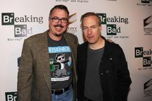 """Creator Vince Gilligan at the screening of """"No Half Measures: Creating The Final Season Of Breaking Bad"""" DVD Launch at Pacific Theatres at the Grove on November 25, 2013 in Los Angeles, California."""