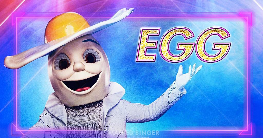 Stare Deeply Into the Eyes of The Masked Singer's Egg