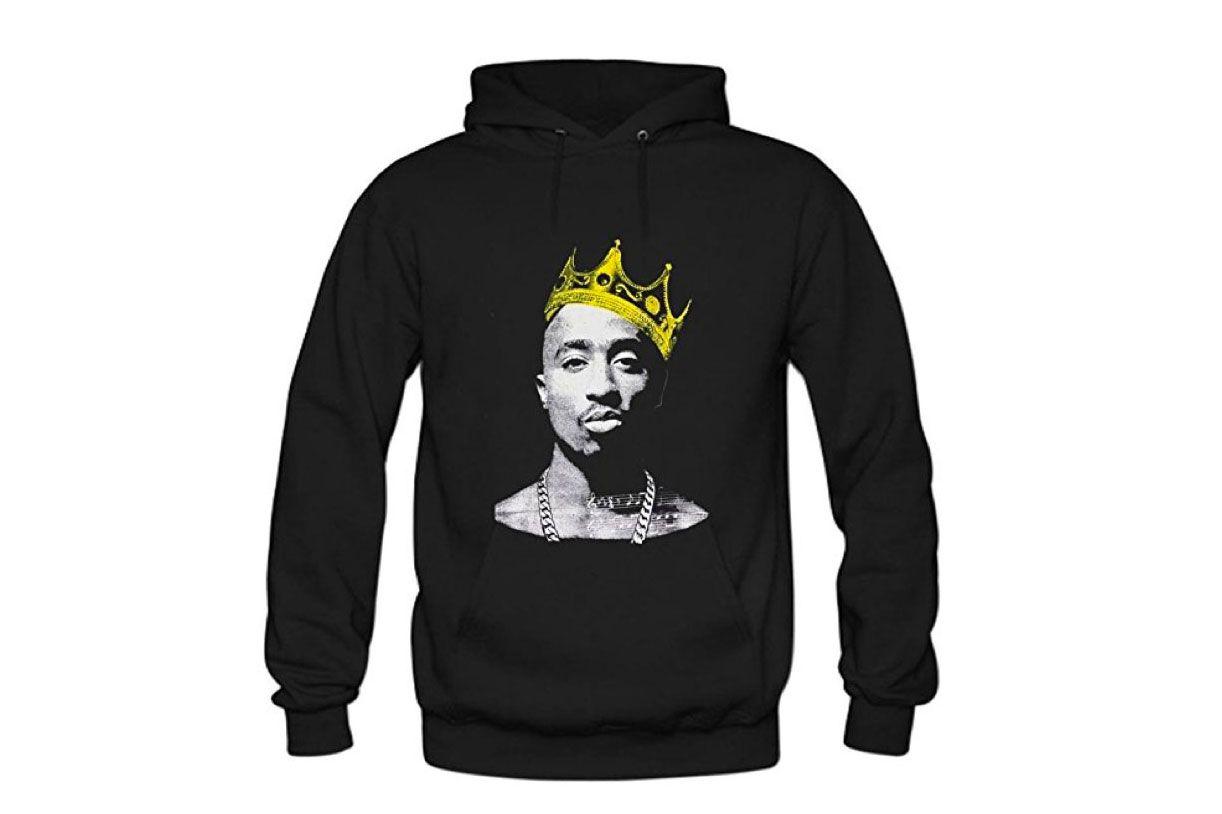 Crown Tupac Hoody Sweatshirt