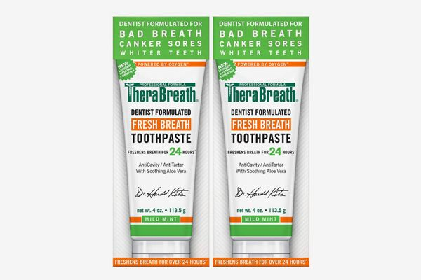 TheraBreath Fresh Breath Toothpaste, 4 Ounce Tube (Pack of 2)