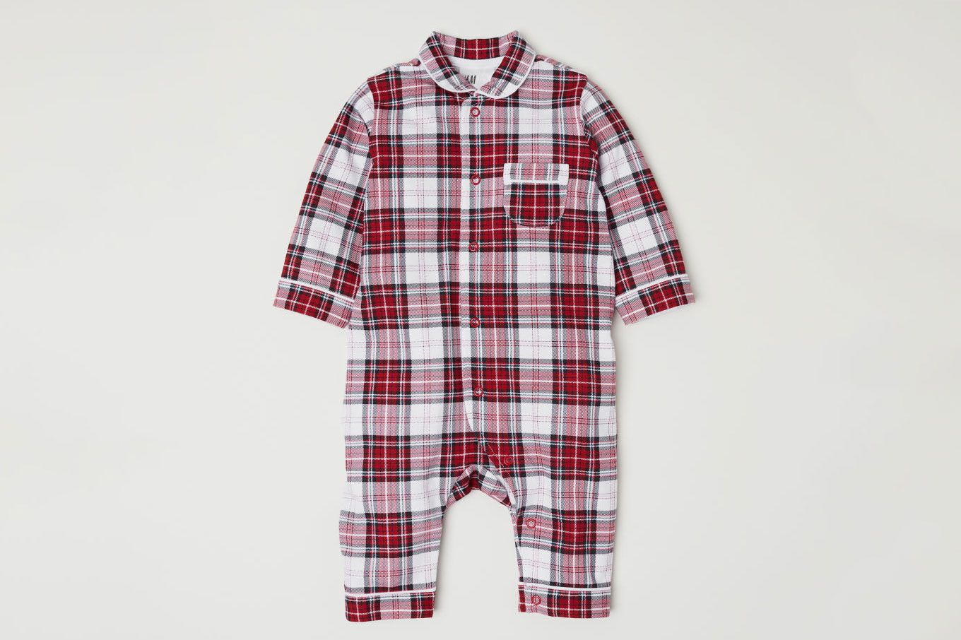 H&M Checked Jumpsuit