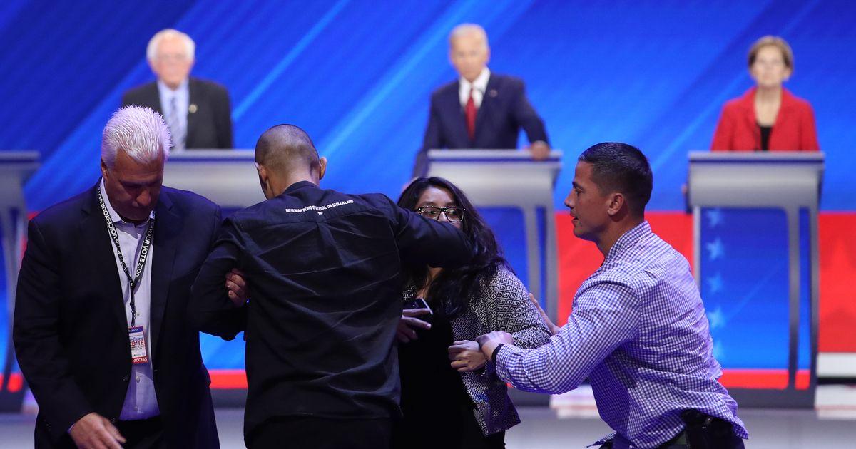 Debate Protestors Interrupt Biden: 'We Are DACA Recipients. Our Lives Are at Risk.'