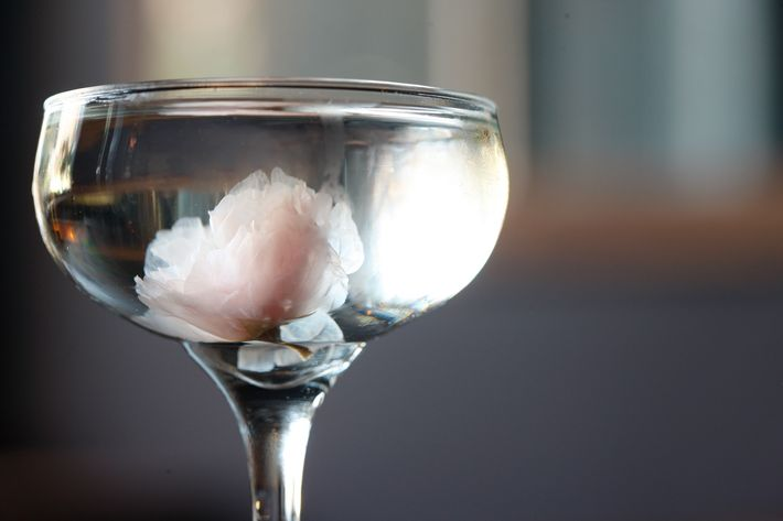 Bar Goto's Sakura Martini.