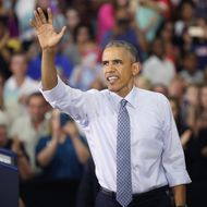 President Obama Discusses Economic Progress During Visit To Indiana High School
