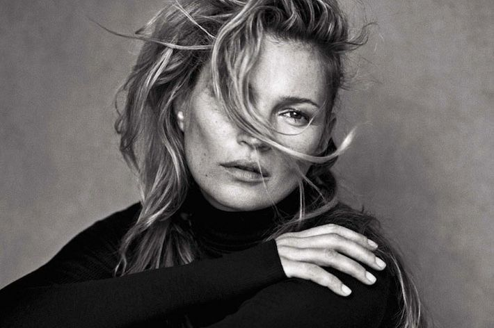 Kate moss does stripped down photo shoot is flawless