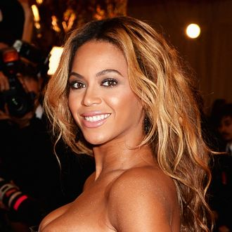 NEW YORK, NY - MAY 06: Beyonce attends the Costume Institute Gala for the