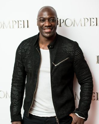 LONDON, ENGLAND - APRIL 28: Adewale Akinnuoye-Agbaje attends a VIP screening of