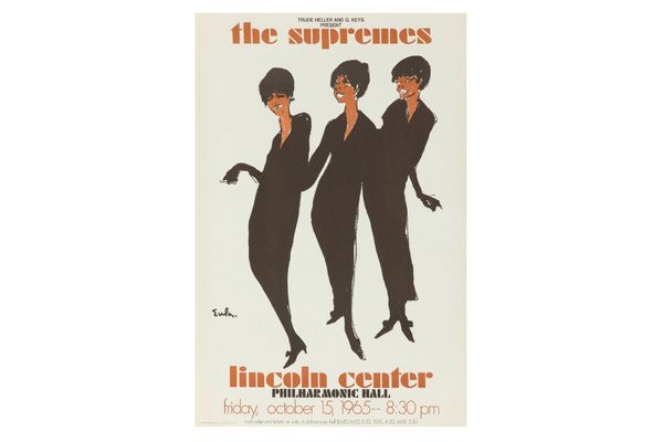 The Supremes at Lincoln Center Poster