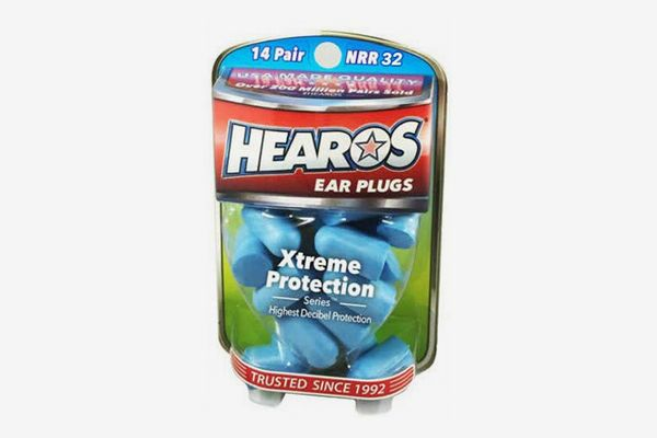 Hearos Xtreme Protection Noise-Canceling Disposable Foam Earplugs