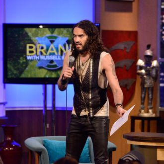 BRANDX WITH RUSSELL BRAND: (Airs November 28, 11:00 pm e/p) Pictured: Russell Brand.