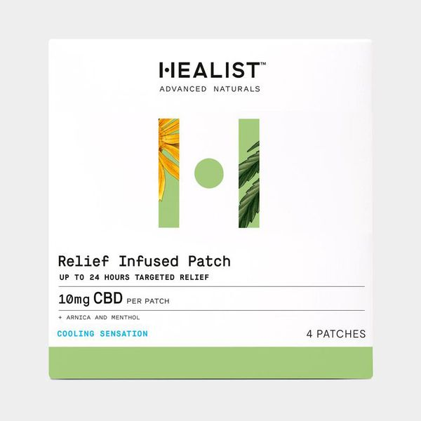 Healist CBD Relief Infused Patch, Pack of 4
