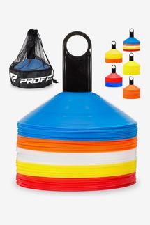 Pro Disc Cones Agility Soccer Cones with Carry Bag