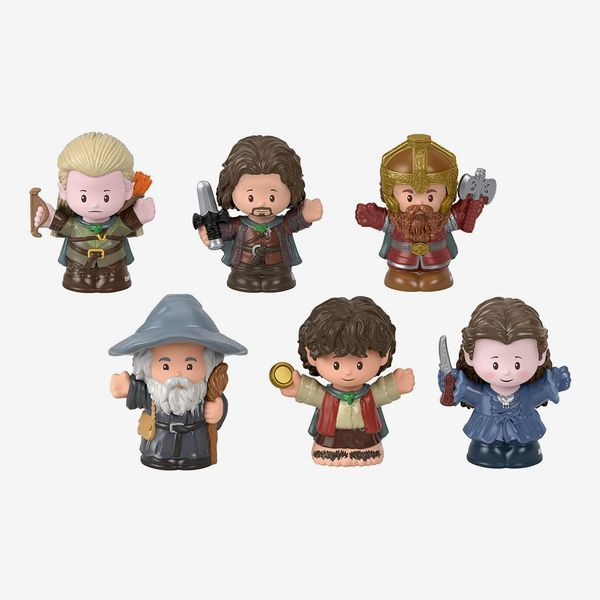 Fisher-Price Little People Collector Lord of The Rings Figure Set