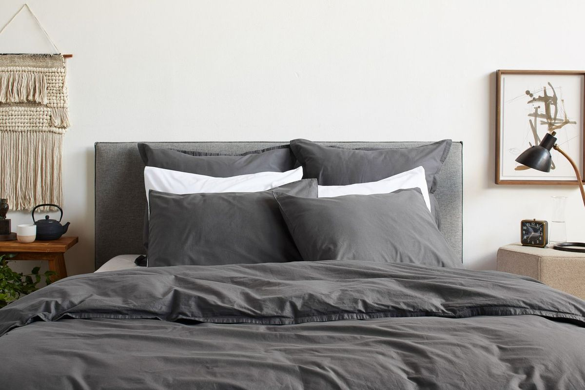 13 Best Minimalist Blue Gray Duvet Covers 2018 The Strategist New York Magazine