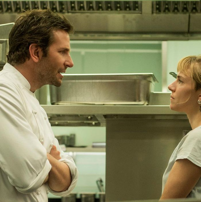 She's both his sous-chef and his love interest.