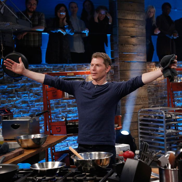 Bobby Flay Allegedly Quit Iron Chef With A T Shirt Onscreen