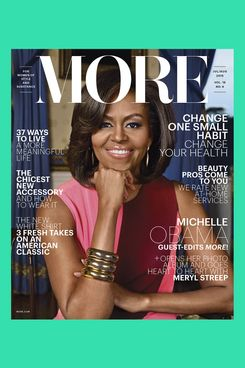 The July/August Issue of More Magazine.