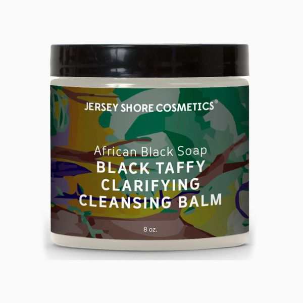 BEPHIES BEAUTY SUPPLY Jersey Shore Cosmetics African Black Soap Black Taffy Clarifying Cleansing Balm
