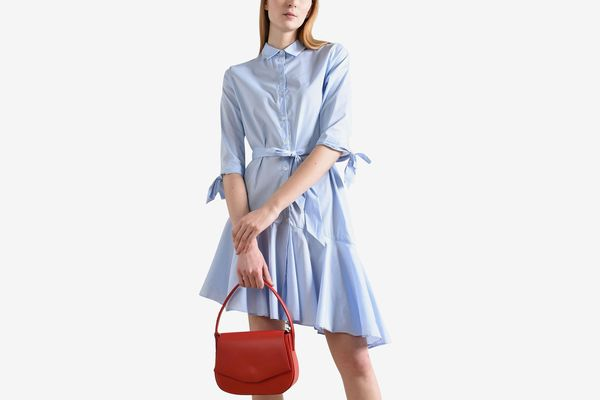 8 Asymmetrical Shirt dress