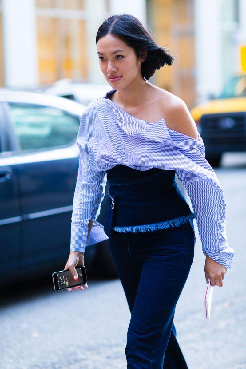 Tiffany Hsu New York Fashion Week Street Style Part 2