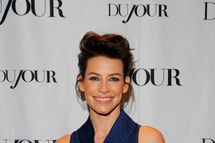 "NEW YORK, NY - DECEMBER 11:  Actress Evangeline Lilly attends Jason Binn and DuJour Magazine celebration of the opening of ""The Hobbit"" at Warner Bros Studios New York on December 11, 2013 in New York City.  (Photo by Astrid Stawiarz/Getty Images)"