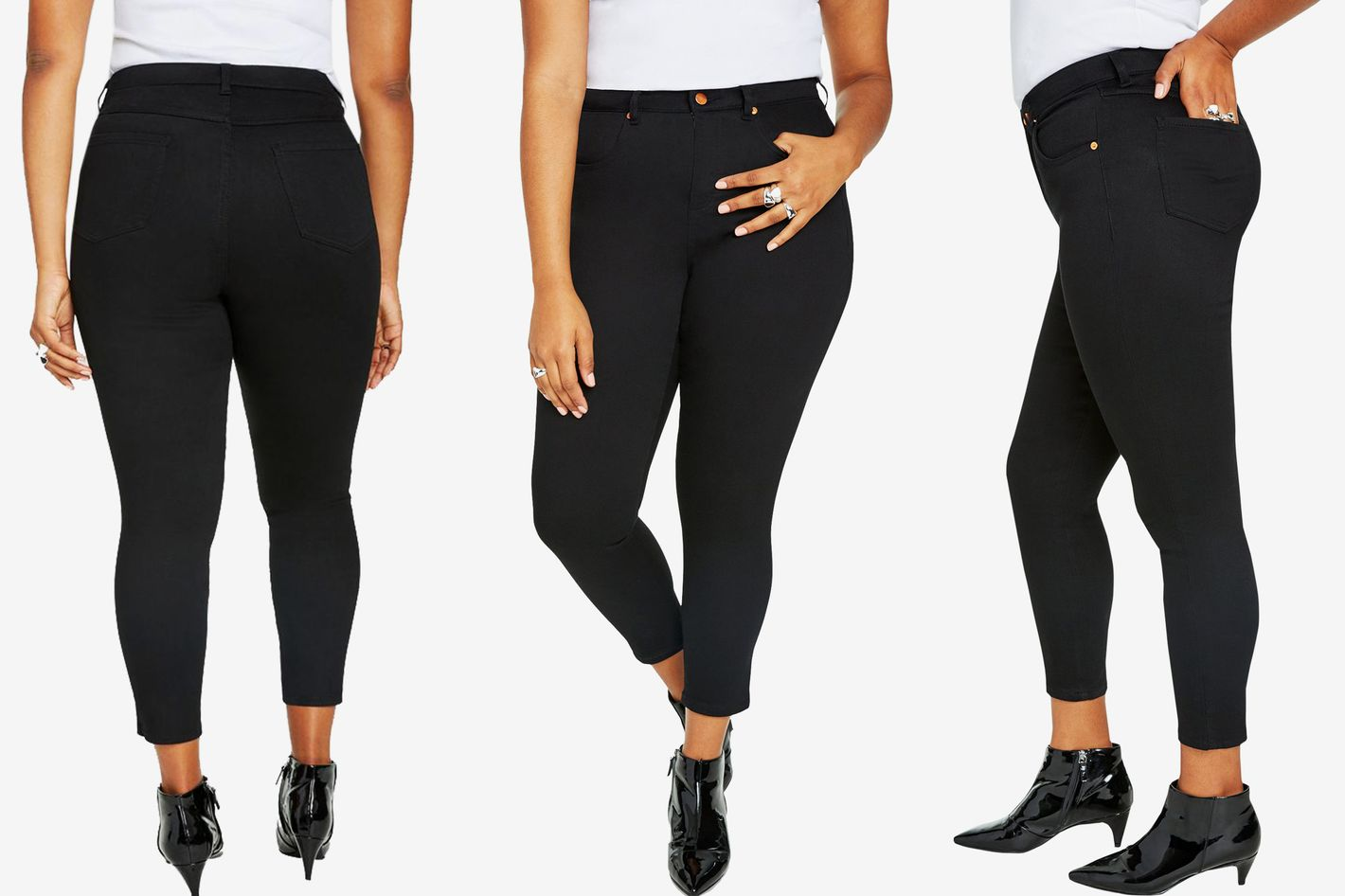 5f972f51eca These Plus-Size Skinny Jeans Keep Me Contained Without Choking My Guts