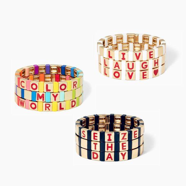 Spell It Out Custom Bracelet