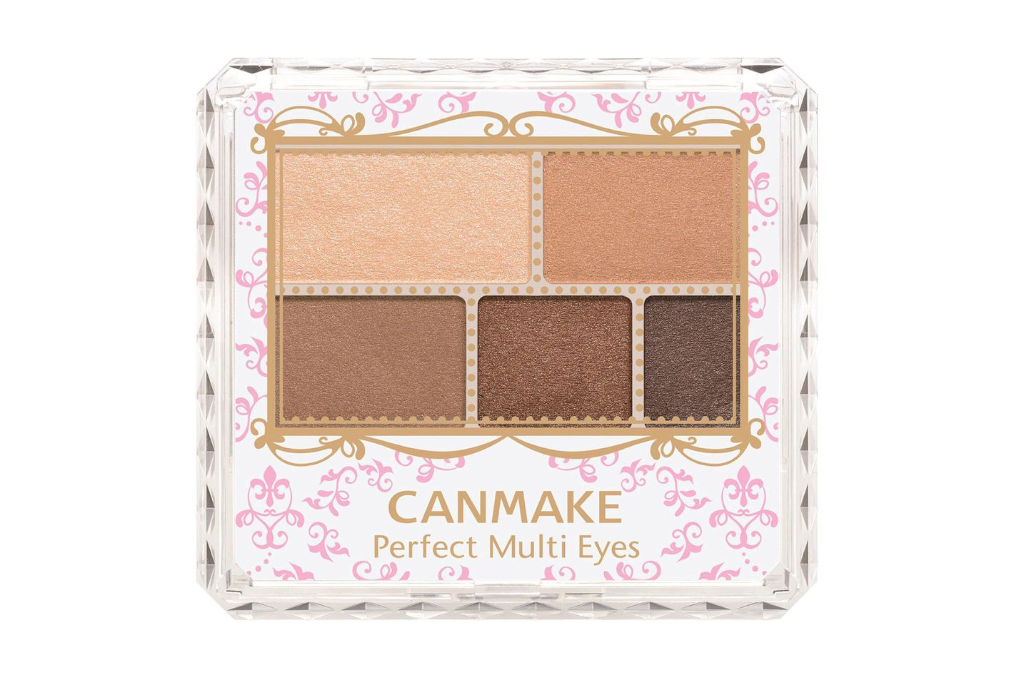 Canmake Perfect Multi Eye Pallet in Shade No. 02