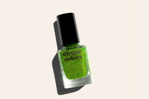 Cirque Colors Holographic Jelly Nail Polish, Peridot
